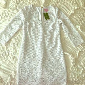 White Lily Pulitzer Dress size small